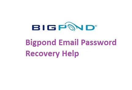Bigpond email password recovery help
