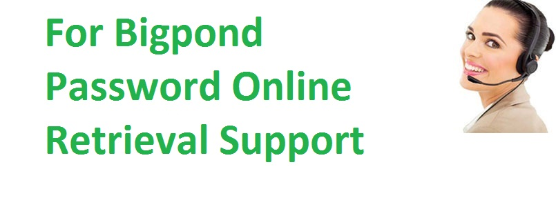 Bigpond password retrieval